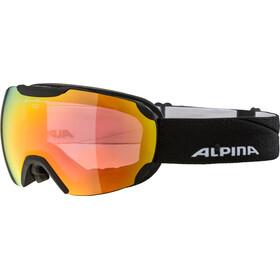 Alpina Pheos QVMM Gafas, black matt red spherical